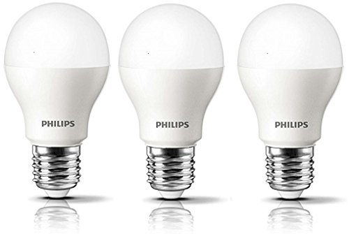 Philips Ace Saver E27 9W LED Bulb (Cool White, Pack of 3)