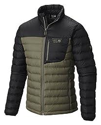 Mountain Hardwear Dynotherm Down Jacket - Men\'s Stone Green/Black Small