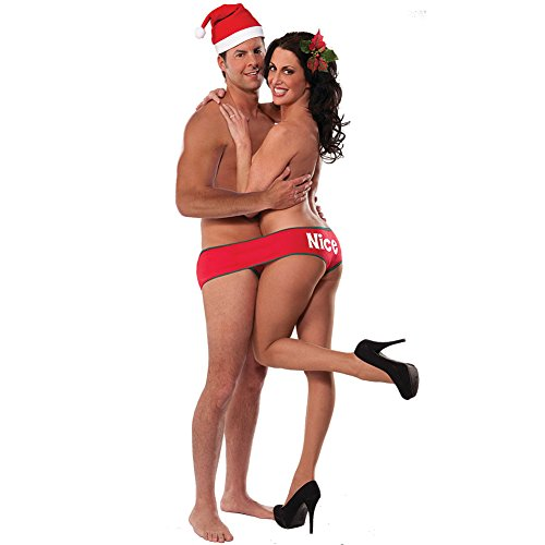 Christmas Fundies - Festive Undies For Two Underwear With Four Leg Holes
