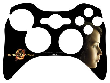 Skinit The Hunger Games -Katniss Everdeen Vinyl Skin for 1 Microsoft Xbox 360 Wireless Controller