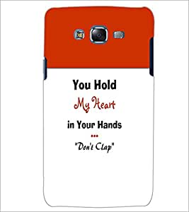 PrintDhaba Quote D-3197 Back Case Cover for SAMSUNG GALAXY ON 7 (Multi-Coloured)