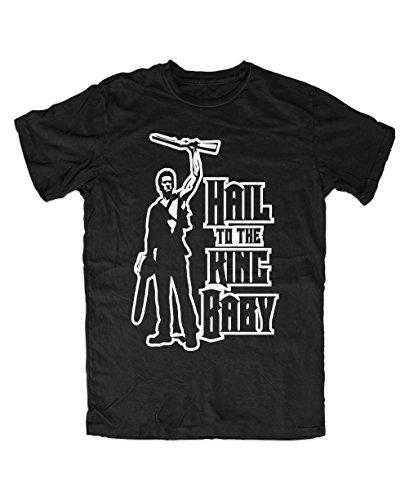 B&C -  T-shirt - Uomo nero L