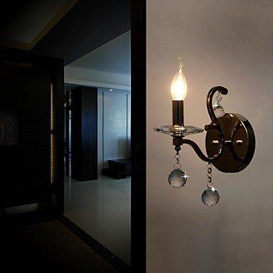 mur de cristal de la lampe unique