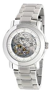 Kenneth Cole New York Women's KC4775 Automatic Triple Silver Automatic Bracelet Watch