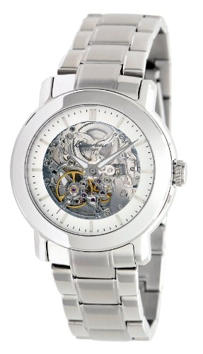 Kenneth Cole New York Women's KC4775 Automatic Triple Silver Automatic Bracelet Watch