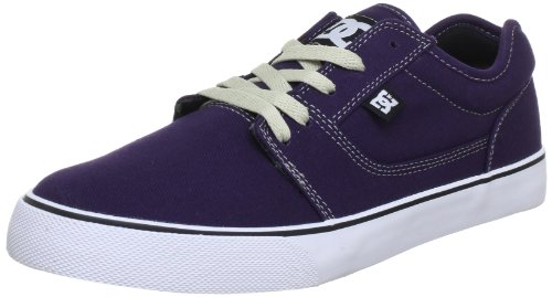 DC TONIK TX SHOE Low Mens Purple Violett (DK PURPLE/WHITE) Size: 8 (42 EU)