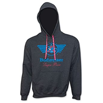 Buy Budweiser Great American Lager Hooded Sweatshirt by Budweiser