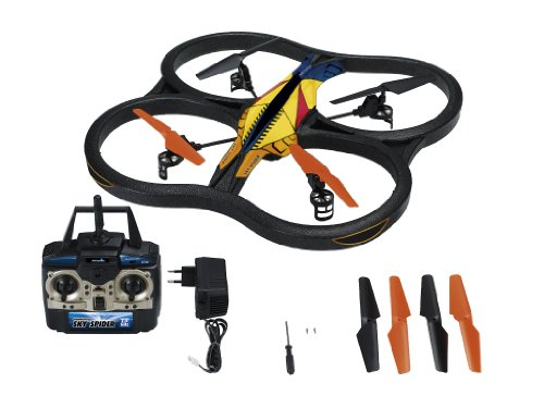 Revell-Control-23978-Quadrocopter-Sky-Spider-RTF4CH-ferngesteuerter-Helikopter
