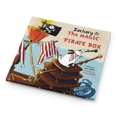 Personalized The Pirate Magic Book front-861302