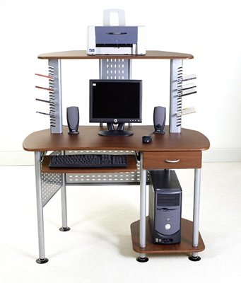 ... Space Saver Corner Computer Desk (B002SFH418) (Computer Desks