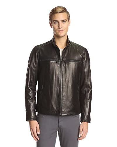 Andrew Marc Men's Bane Moto Leather Jacket