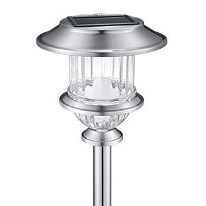 alpan stainless steel solar garden light 18