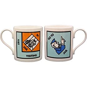 Monopoly Go To Jail coffee mug!