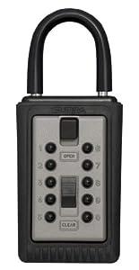 Kidde AccessPoint 001166 KeySafe Original 3-Key Portable, Titanium Gray