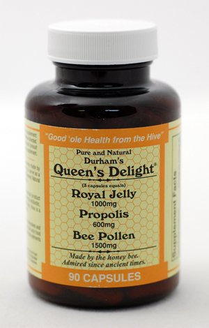 Royal Jelly, Propolis and Bee Pollen Capsules