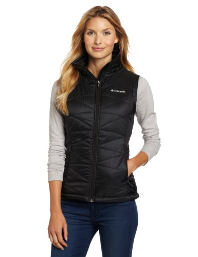 Columbia Women's Mighty Lite III Vest, Black, Small Quilted Thermal Vest