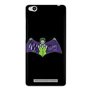CrazyInk Premium 3D Back Cover for XIAOMI REDMI 3S - Joker Batman Logo