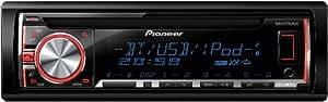 Pioneer DEH-X5600BT Autoradios 200 W Bluetooth, En Façade