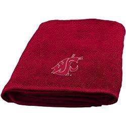 NCAA Washington State Cougars Decorative Bath Towel, Set of 2