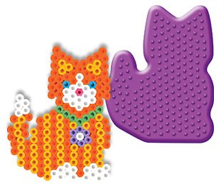 Kitty Pegboard for Perler Fuse Beads