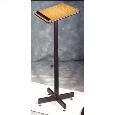 Portable Presentation Lectern Finish: Mahogany