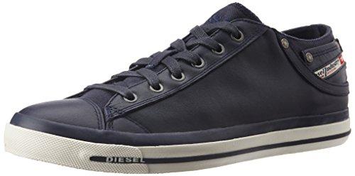Diesel EXPOSURE LOW I Y00321 PR052 T6065 scarpa blu notte