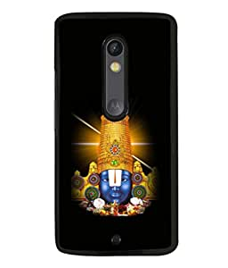 printtech Lord God South India Back Case Cover for Moto X Pure Edition