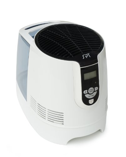 SPT SU-9210 Digital Evaporative Humidifier with 1-Gallon Tank - 1