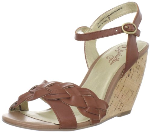Seychelles Women's Kill Em With Kindness Wedge Sandal,Whiskey,8 M US