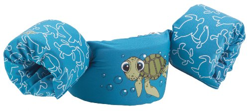 Stearns Puddle Jumper Deluxe Life Jacket, Turtle, 30 to 50 Pound