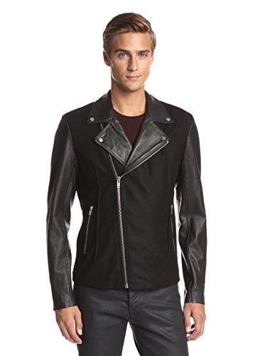 La Marque Men's Mixed Media Perfecto Jacket
