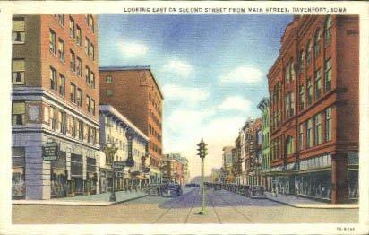 Davenport, Iowa Postcard