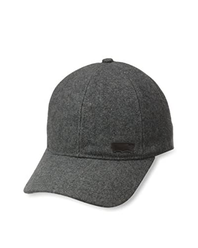 Levi's Men's Wool Adjustable Baseball Cap, Charcoal Heather