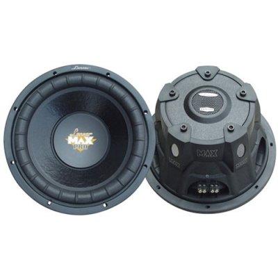 Lanzar Max Series Maxp104D 1,200 Watt 10-Inch Dual Voice Coil Car Stereo Subwoofer