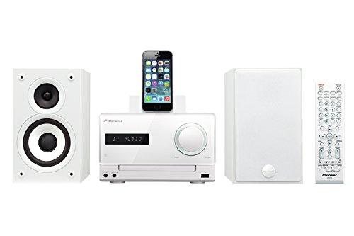 X-CM42BT-W Kompaktanlage (2x 15 Watt, Bluetooth, Front-USB, CD, Streaming App, Lightning Dock für Apple iPod/iPhone) weiß