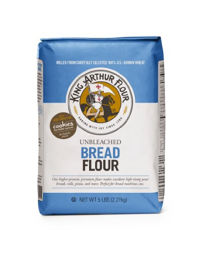 King Arthur Unbleached Bread Flour, 5-pounds (Pack of 4) (King Arthur Bread Machine Flour compare prices)