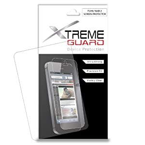 XtremeGUARD© NABI 2 TABLET Screen Protector (Ultra CLEAR)