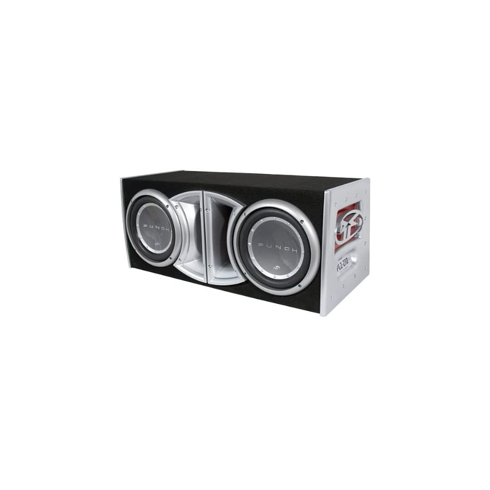 ROCKFORD FOSGATE PL2 210 DUAL 10 P2 WOOFERS IN ENCLOSURE on