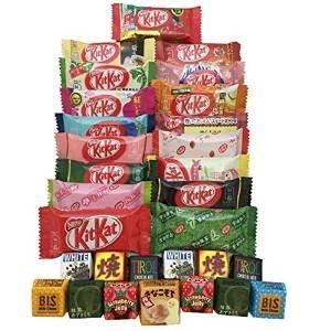 tonosama-candy-selection-30-japanese-kit-kat-17-pcs-tirol-13-pcs