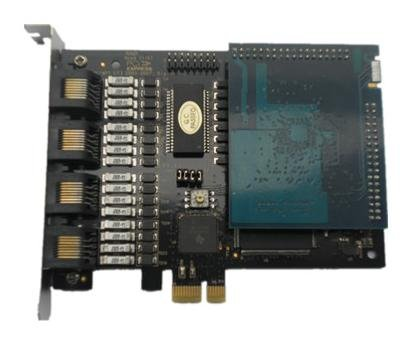 Te420B With Vpmoct128 Echo Cancellation Module Pci Express Asterisk Card