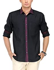 Yepme Men's Solid Cotton Shirt - YPMSHRT0455