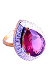 Nakit Exclusive CZ Adjustable Cocktail Ring -520