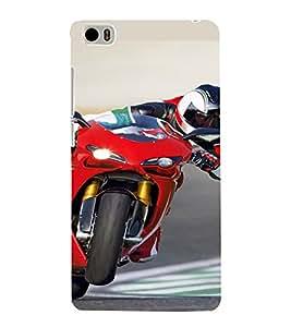 PrintVisa Sports Bike Design 3D Hard Polycarbonate Designer Back Case Cover for Xiaomi Redmi Mi5