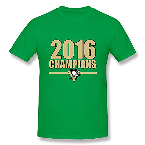 JAX Men's Make Your Own Shirt 2016 Pittsburgh Hockey Team 3X KellyGreen