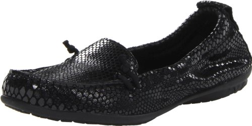 Hush Puppies Women's Ceil Slip On Flat,Black,9 N US