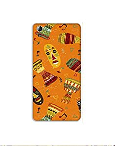 LENOVO A6010 Hand-drawn-colorful-african-pattern-01 Mobile Case (Limited Time Offers,Please Check the Details Below)