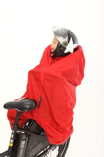 自転車の 自転車 前乗せ カバー 手作り : ... 乗せ自転車の防寒アイデア