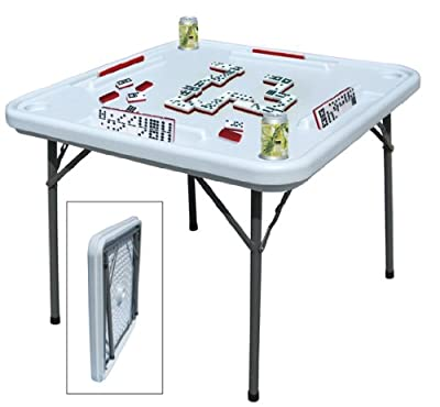 Benecasa Blow Mold Domino Game Table