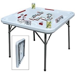 Amazon.com: Benecasa Blow Mold Domino Game Table: Kitchen