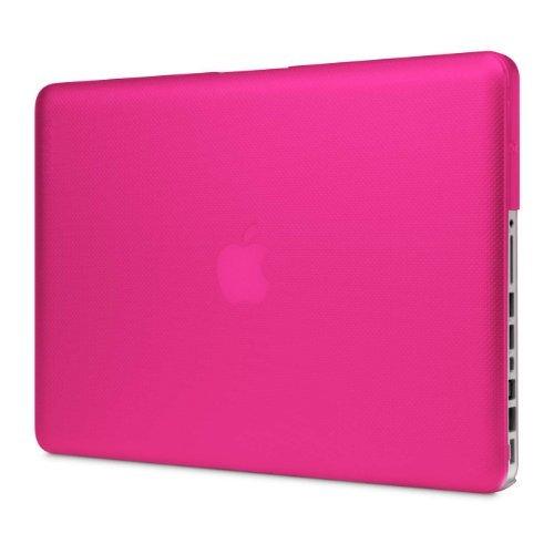 "Incase Textured Hardshell For 13"" Macbook Pro (Vivacious Pink Textured Dot - Cl60469)"
